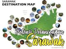 sarawak maps