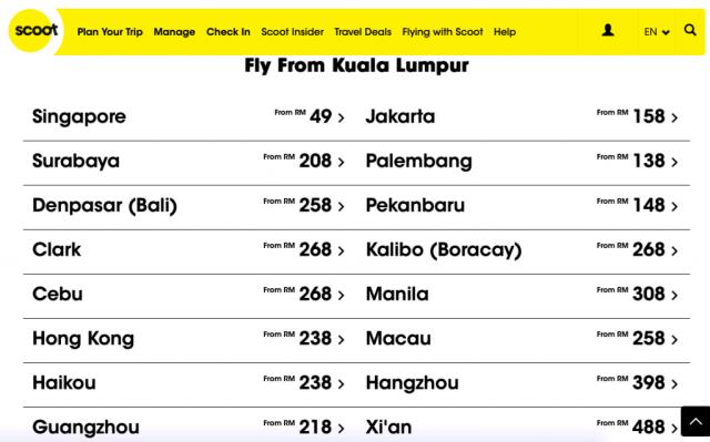 Promosi Tiket Murah FlyScoot NEED2FLY April 2019