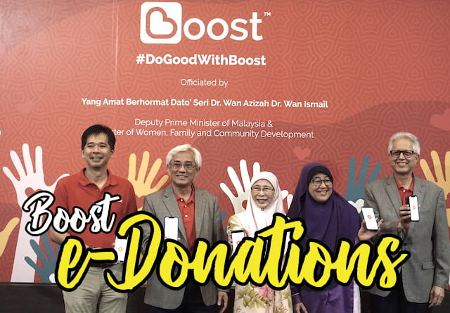 Dr Wan Azizah Lancar Boost E-Donations