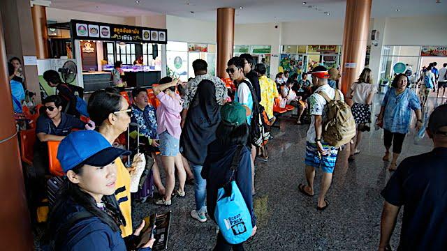 Jeti Pak Bara Satun Thailand