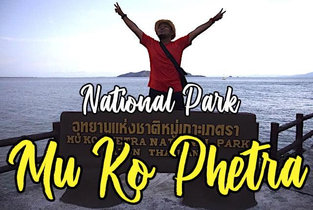 Mu Ko Phetra National Park Satun Thailand