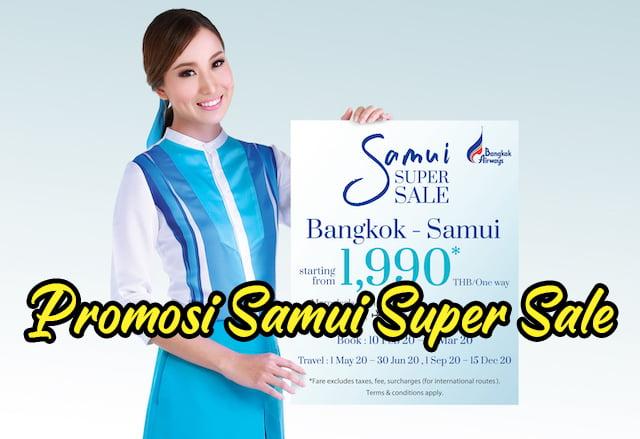 Promosi Samui Super Sale Bangkok Airways 01 copy