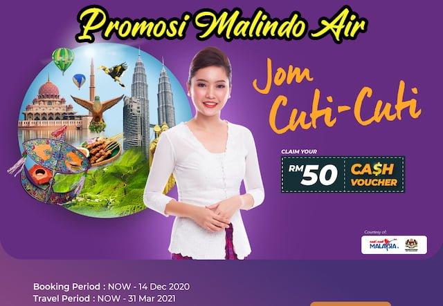 Harga Tiket Promosi Jom Cuti Cuti Malindo Air Disember 2020