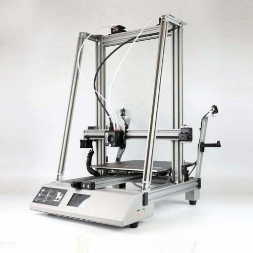 Imprimanta 3D WANHAO D12/300x300x400 extruder dual, conexiune wifi