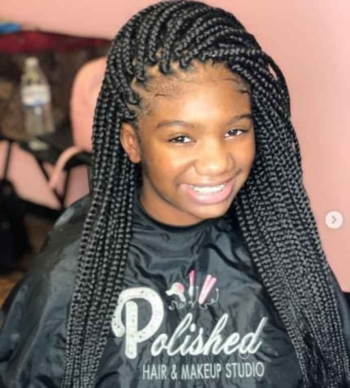 Thick Comb Over Braids