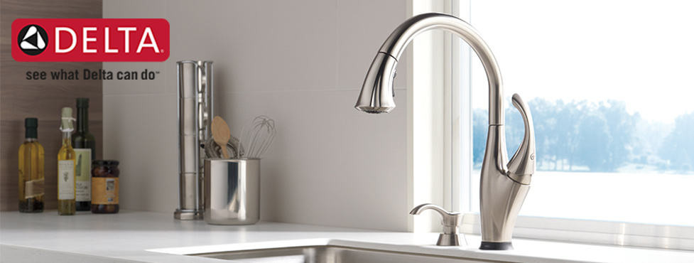 how to remove a delta kitchen faucet