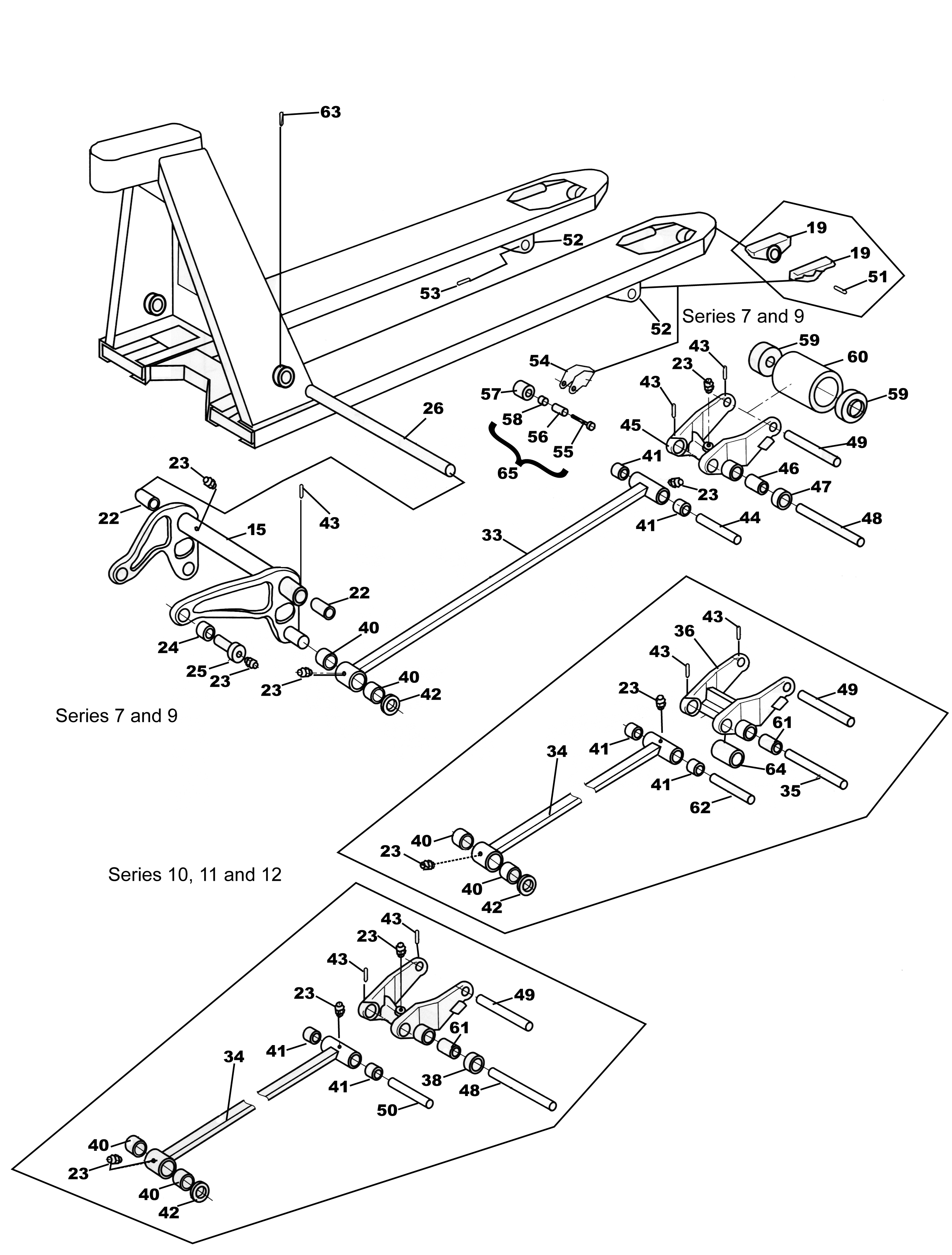 Dayton Pallet Jack Parts Diagram Periodic Amp Diagrams Science