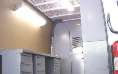 The Sprinter Contractor Shelves