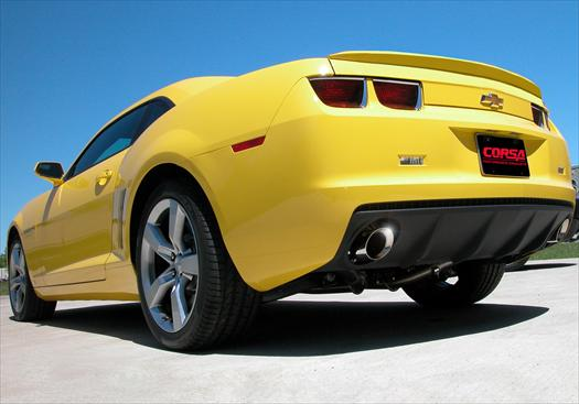 This is the Corsa Performance Exhaust On A Camaro