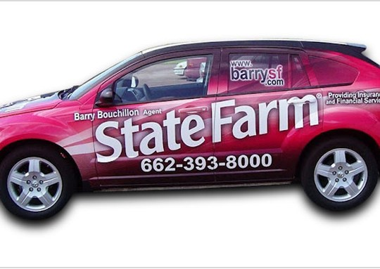 This is the Advertising Vehicle Wrap