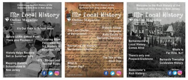 The Mr. Local History Magazine is an online collection of stories for our history fans. Enjoy