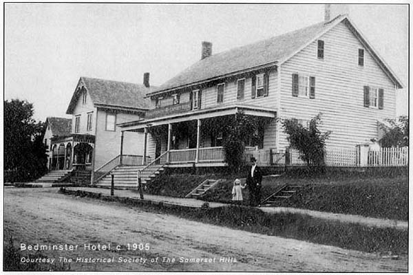 Known as the Bedminster Hotel in 1905