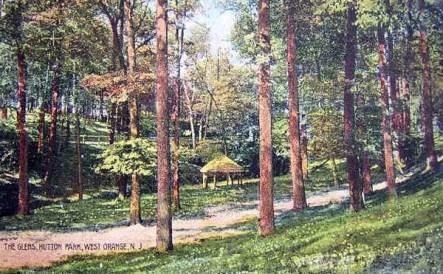 Hutton Park, now West Orange_NJ_c1908