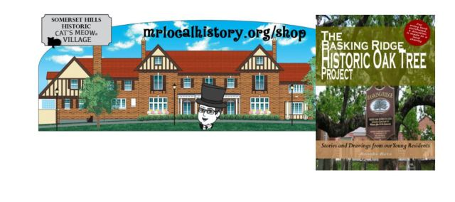 For donations $100 and up receive a Cat's Meow and the Historic Oak book as our gift.