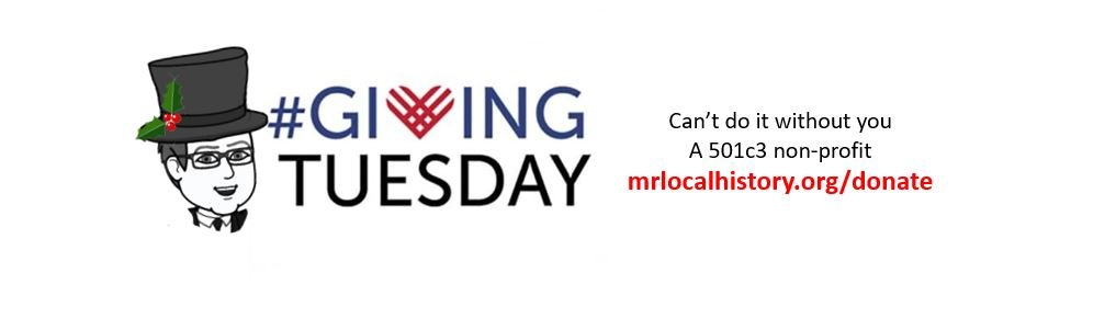 #givingtuesday is just one day where you get to give with your heart to local non-profit organizations. Please consider even a small donation to the Mr. Local History Non-Profit project.