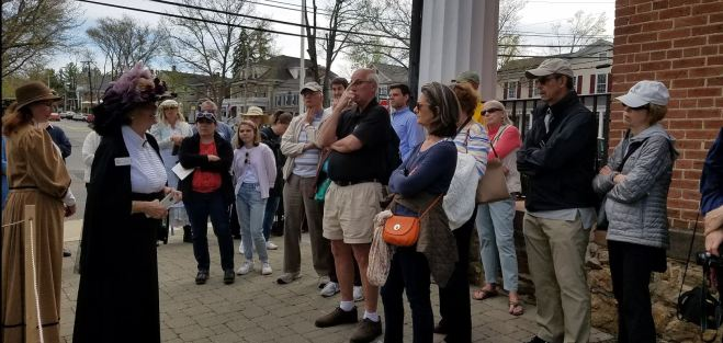 The Mr Local History Walking Tour of Basking Ridge Village