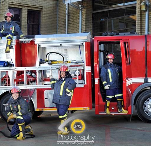 Group Portrait - Fire Department