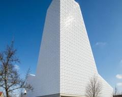 Fassade Gießkeramik