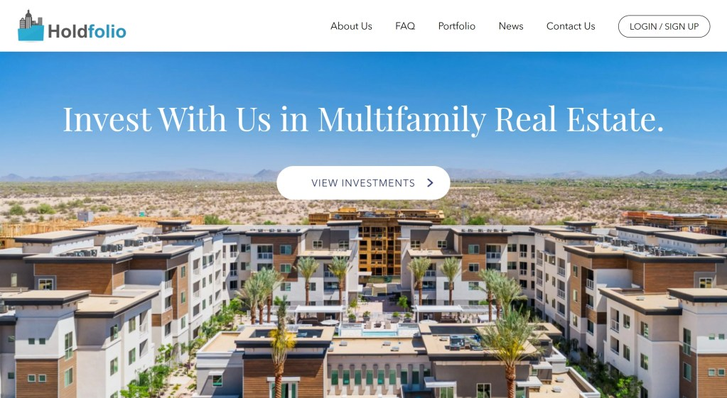 How to find real estate syndication deals as a non-accredited investors - Holdfolio
