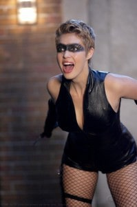 Alaina Huffman, Black Canary, Smallville, actress, Mr. Media Interview