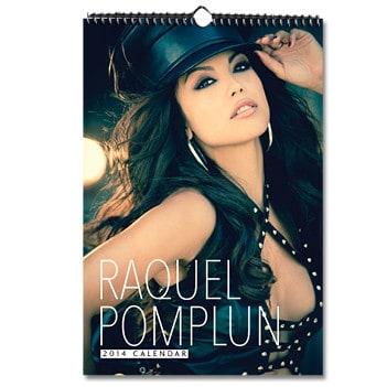 2014 Raquel Pomplun Wall Calendar, Mr. Media Interview
