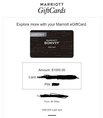 marriott egift card