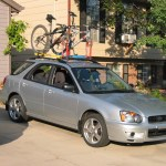 A Diy Roof Rack Make Your Small Car Carry Big Stuff Mr Money Mustache