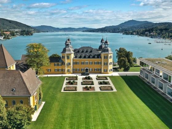Falkensteiner Schloss Velden im Herbst 2019