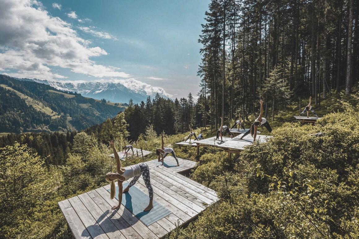 Für Yoga gibt es sehr viel Möglichkeiten
