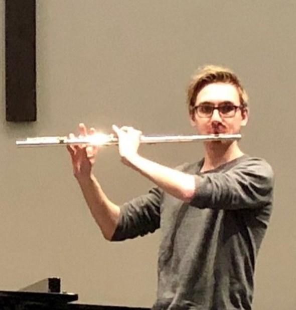 Joel Ulrich senior instrumental scholarship winner