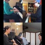 Teacher Quartet at Musicthon 2021