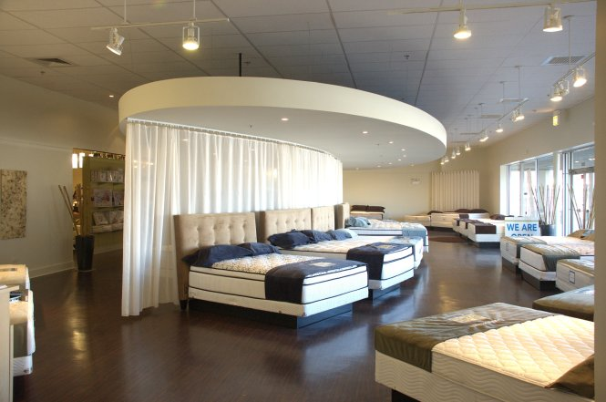 Mrd Designed A Special Test Bed Area That Allowed Customers To Try Out The Various Mattress Comfort Levels