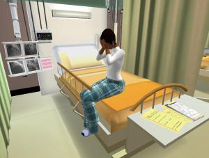 Giving patients bad news in virtual spaces where we can control the interaction.