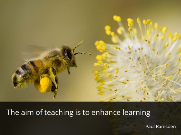 aim of teaching