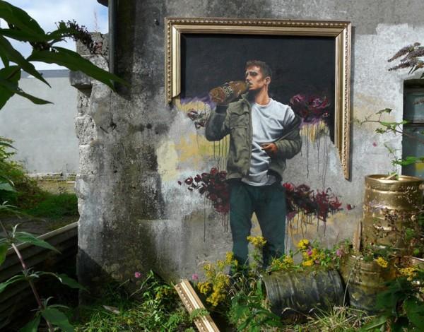 Fintan Switzer, imaginative street art, graffiti art, street artists, urban murals, urban art, mr pilgrim art.