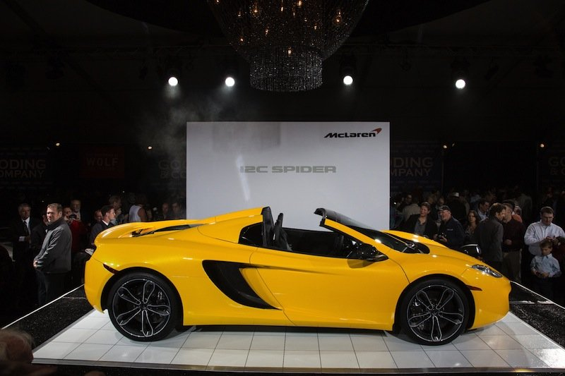 McLaren announces new models to tour Middle East in autumn of 2012 ...