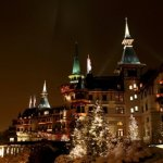 Walking in a Winter Wonderland this Christmas at the Dolder Grand in Zurich