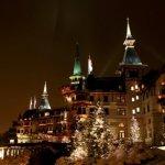 Walking in a Winter Wonderland this Christmas at the Dolder Grand in Zurich