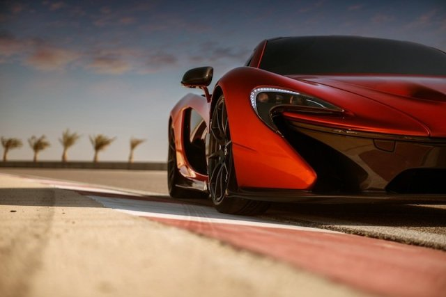 McLaren Automotive Bahrain Circuit