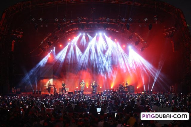 The Script Dubai Jazz Festival 2013