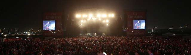 The Script at the Emirates Airline Dubai Jazz Festival 2013
