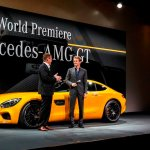 Dynamic world début of the new Mercedes-AMG GT in Germany