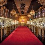 A Château de Versailles In Dubai For Cartier's Royal High Jewelry Exhibition