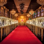 A Château de Versailles In Dubai For Cartier's Royal High Jewelry Exhibition