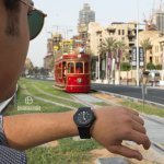 Hopping On Downtown's Dubai Trolley!