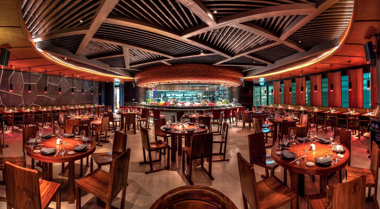 Novikov Private Dining Room