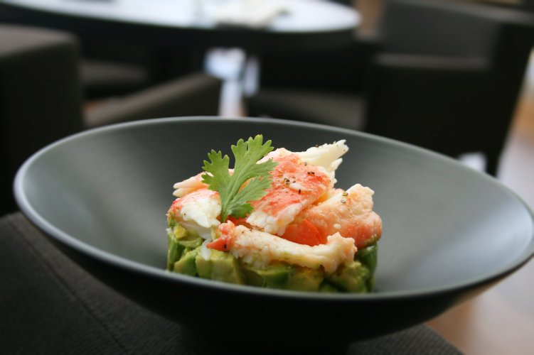La Cantine du Faubourg -crab-avocado-salad