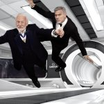 'Lost In Space' With Omega, George Clooney and Buzz Aldrin