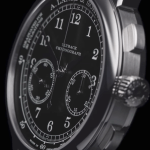 A. Lange & Söhne's 1815 Chronograph Makes A Black & White Appearance