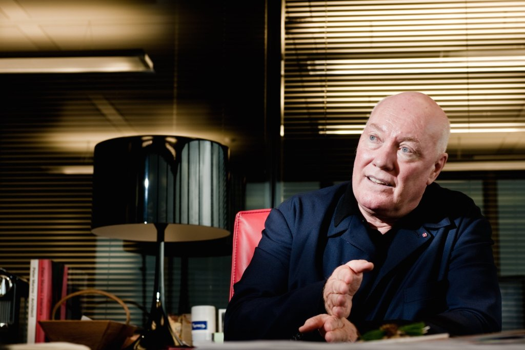 Jean-Claude Biver in his office